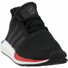 adidas Swift Run (Little Kid/Big Kid) Sneakers Casual   Sneakers Black Boys -
