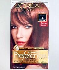 L'Oreal Superior Preference Hair Color 6R Light Auburn Warmer