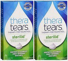 Thera Tears STERILID EyeLid & Eyelash Cleanser 1.62 oz ( 2 pack ) PHARMACY FRESH