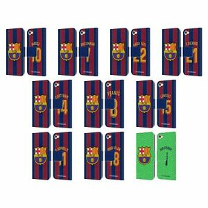 FC BARCELONA 2020/21 PLAYERS HOME KIT GROUP 1 LEATHER BOOK CASE FOR iPOD TOUCH
