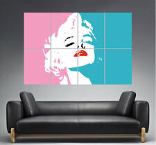 Marilyn Monroe Design Home Deco Wall Art Poster Grand format A0