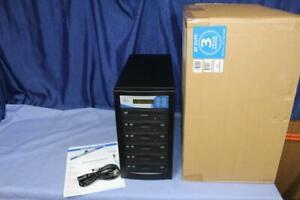 EZ DUPE EZD5TDVDLGB 5 Target DVD/CD Stand alone Duplicator 24X