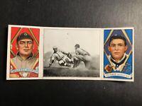 1912 Hassan Triple Folders T202 #97 Moriarity Oscar Stange Edgar Willett G-G+