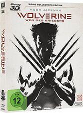 WOLVERINE, Weg des Kriegers (Hugh Jackman) Blu-ray 3D + 2 Blu-ray Discs NEU+OVP