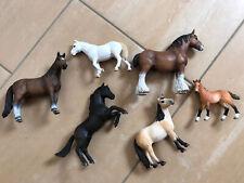 6 Stück Pferde von Schleich