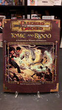 D&D Dungeons Dragons Tome and Blood 3° edizione inglese D20 system