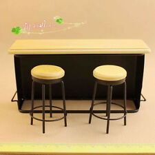 1:12 Cute MINI Dollhouse Miniature Furniture  Bar tables and stools