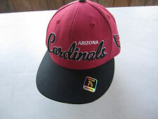 7b78406bb Arizona Cardinals Reebok NFL Script Fitted Cap Hat 7 3 8 With Tags RARE