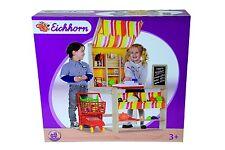 Kaufstand Eichhorn 10000254 , Kaufladen mit Theke, + Bonus Minis von Real ,NEU