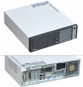 Fujitsu Esprimo E5625 Epa Desktop PC 64-BIT AMD 64 X2 CPU 2300MHz 4 GB RAM AMD-2