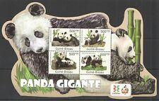 BC662 SALE GUINEA-BISSAU FAUNA WILD ANIMALS WWF GIANT PANDA GIGANTE KB MNH