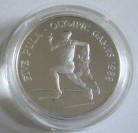 Botswana 5 Pula 1988 Olympia Seoul Laufen Silber