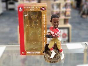 "JERRY RICE San Francisco 49ers Super Bowl XXIII ""MVP"" Limited Ed Bobblehead"