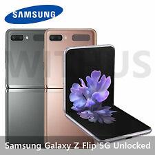 Samsung Galaxy Z Flip 5G Unlocked SM-F707 8GB / 256GB 2020 New 3 Color