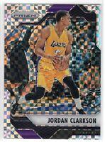 2016-17 Panini Prizm Basketball Jordan Clarkson SP Starburst Prizm #134 Lakers