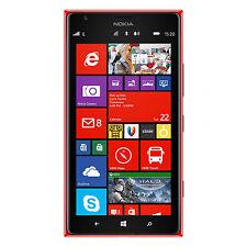 Nokia Lumia 1520 16GB AT&T Unlocked GSM 4G LTE 20MP Windows Smartphone - Red