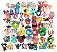 Disney Pin 100 Assorted Trading Pin Lot ~ Brand New Pins ~ No Doubles ~ Tradable