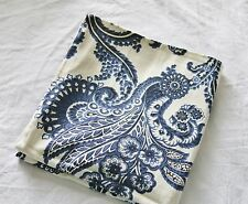 Classic Blue & White Floral Pillow Covers,  100% Cotton