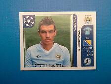 Panini Champions League 2011-12 n. 55 Dzeko Manchester City