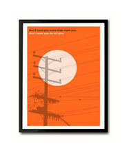 Wichita Lineman Glen Campbell inspired Art Print