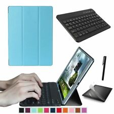 """Slim Smart Cover Case Stand for Samsung Galaxy Tab a 10.1"""" T580 / T585 Tablet PC Sky Blue"""