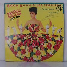 "Boom Boom & Les Tequilas – T'embrasser A Mexico (Vinyl, 12"", Maxi 45 Tours)"