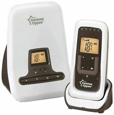 Tommee Tippee CLOSER TO NATURE DECT DIGITAL SOUND MONITOR Baby Safety BN