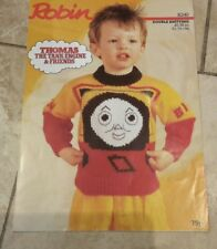 Robin knitting pattern for Thomas Tank engine sweater