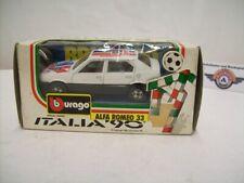 "Alfa Romeo 33 Rally #103 ""Firelli"" 1983, White, Bburago 1:43 (Made in Italy)"