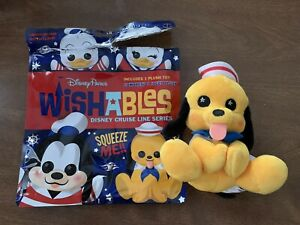 PLUTO WISHABLES PLUSH Disney Cruise Line Series - Disney Parks Exclusive