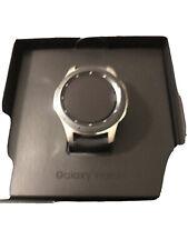 Samsung Galaxy Watch SM-R805U 46mm Silver Case Black Strap Smart Watch -...
