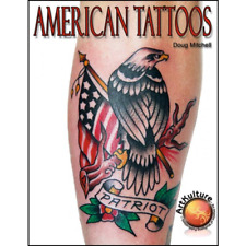American Tattoos Book Manual Red White & Blue Phoenix Techniques Styles