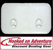Deck Hatch 600 x 250 ABS White Access Hatch Hatch Walk on Quality
