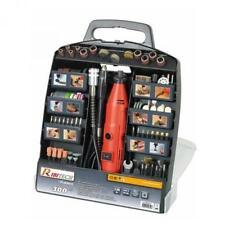 Kit mini trapano multiuso fresa per modellismo 300 pezzi 135 w in valigetta