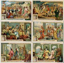 Chromo Liebig Sang. 1029 ITA Il Secolo di Pericle ANNO 1911