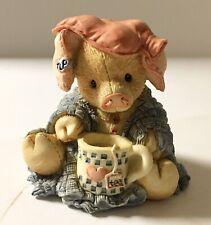 "1994 Enesco This Little Piggie Tlp ""This Little Piggie Stayed Home"" 124532"