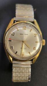 Vintage Working Waltham Swiss Incabloc 17 Jewel 30mm Automatic Wrist Watch