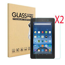 2Pcs Gorilla Tempered Glass Screen Protector For Amazon Kindle Fire Hd 8 (2017)