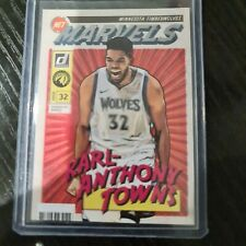 2019-20 Panini Donruss Karl Anthony Towns Net Marvels Insert