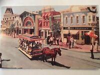 Main Street Disneyland Upjohn Pharmacy Postcard RPPC 50s 60s