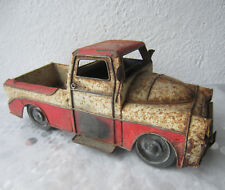 """13+"""" Antique  very rusty old truck  tin toy, ⚽ automobile / car model"""