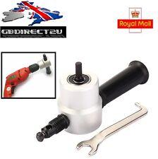 Double Headed Sheet Metal Nibbler Cutter Drill Attachment Metal Sheet Cutter UK