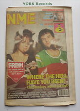 NEW MUSICAL EXPRESS NME - September 19 1992 - THE SUNDAYS / TOM WAITS / CREATION