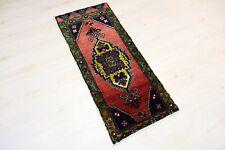 """Malatya Carpet Doormat, 19.7""""x47.2"""", Turkish Doormat, Handmade Vintage Doormat"""