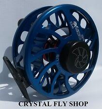 NEW NAUTILUS CCF-X2 6/8 #6/7/8 WT. FLY REEL RARE CUSTOM BLUE- FREE U.S. SHIPPING