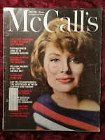 MCCALL's July 1962 Jul 62 SUZY PARKER WILLIAM HOLDEN PAUL GALLICO HERMAN WOUK