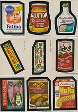 1973-4 WACKY PACKAGES SERIES 5 STICKERS AND PUZZLE
