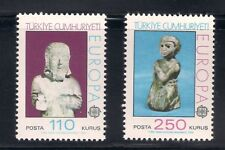 Turkey  1974  Sc #1972-73  Europa  MNH  (42905)