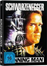 RUNNING MAN (Arnold Schwarzenegger) 2 Blu-ray Discs + DVD + CD Mediabook NEU+OVP