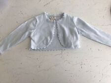 MONSOON Niamh Baby Girl Blue SPARKLE Cardigan 6-12 Months